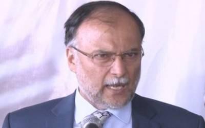 آزادامیدواروں کا تحریک انصاف کی طرف جانا غیر فطری عمل ہے :احسن اقبال