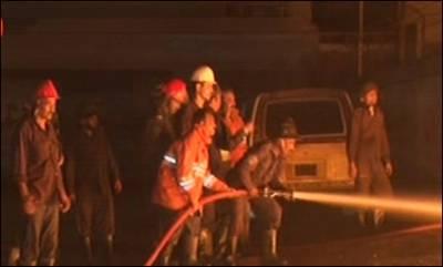 لاہور، پٹرول پمپ پر دھماکہ ،متعدد زخمی