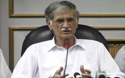 غیر اخلاقی زبان استعمال کرنے کا معاملہ،پرویز خٹک نے الیکشن کمیشن سے غیر مشروط معافی مانگ لی
