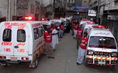 آسٹریلیا میں مقیم پاکستانیوں نے ایدھی فاﺅنڈیشن کو 50 ایمبولینسز عطیہ کردیں