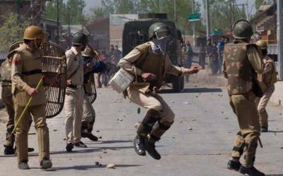 جنوبی کشمیر کے ضلع شوپیاں میں شہدا کی تعد 6 ہو گئی،قابض بھارتی فوج کی احتجاجی مظاہرین پر فائرنگ،ایک شہید 20 زخمی