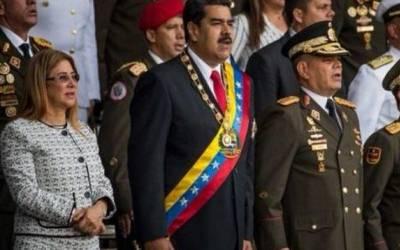 وینزویلا: صدر نکولس پرنیشنل گارڈ تقریب کے دوران ڈرون سے حملہ،بھگڈر مچنے پر فوجی جان بچانے کیلئے بھاگ کھڑے ہوئے
