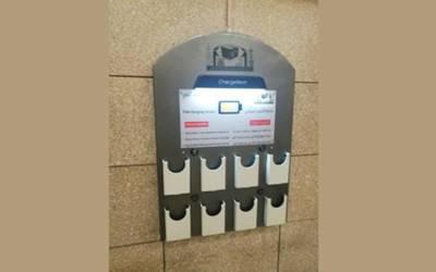 مسجدنبوی میں سمارٹ بورڈز اور موبائل چارجنگ کی سہولت بہترین ہے :عازمین حج