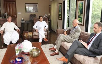 یورپی یونین کےسفیرکی عمران خان سے ملاقات اور پھر ایسی پیشکش کردی کہ ہرپاکستانی خوشی سے جھوم اٹھے گا، جیل میں موجود نوازشریف کی بھی حیرت کی انتہاء نہ رہے گی کیونکہ ۔ ۔ ۔