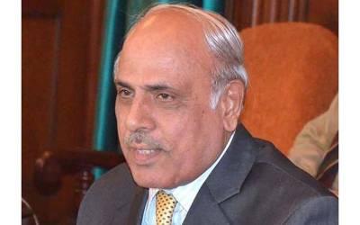 گورنر پنجاب ملک رفیق رجوانہ کا گورنر ہاؤس سے سامان شفٹ