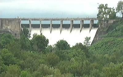 پانی کی کمی کا شکار پاکستانیوں کیلئے خوشخبری، راول ڈیم بھر گیا، سپل ویز کھل گئے