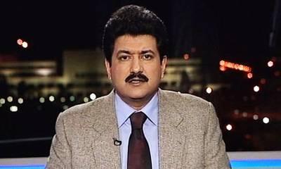 """""""عمران خان اس جماعت کے 3 ووٹوں کے بغیر بھی وزیراعظم بن سکتے ہیں لیکن رابطے دراصل ان لوگوں کیلئے پیغام ہے جو ۔ ۔ ۔"""" سینئر صحافی حامد میر نے ایسی بات بتادی کہ ہنگامہ برپا ہوگیا"""