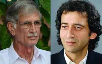 مجھے اپنے قائد پر اعتماد ہے،عاطف خان کے ساتھ کوئی لڑائی نہیں،عمران خان نے جو بھی فیصلہ کیا منظور ہو گا :پرویز خٹک