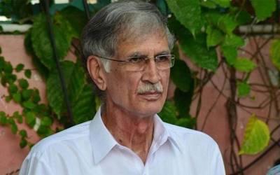 محمود خان کووزیراعلیٰ کے پی کے نامزد کرنےکے فیصلے کاخیرمقدم کرتاہوں،پرویزخٹک