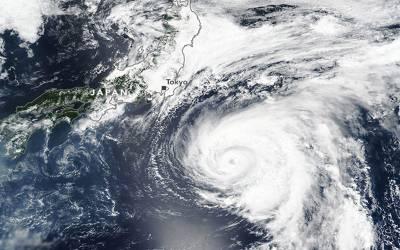 جاپان ، طوفان'' شان شان ''ٹوکیو کی جانب بڑھنے لگا، وارننگ جاری