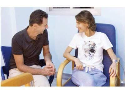 شامی خاتون اول اسماء الاسد بریسٹ کینسر میں مبتلا، ہسپتال داخل