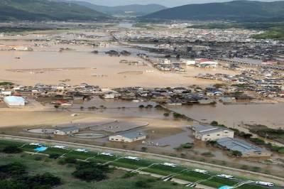 جاپان میں بارش کا قہر، 88 افراد کی موت،19 لاکھ بےگھر2000سے زائد لاپتہ