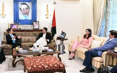 پاکستان میں تعینات جاپانی سفیر کی چیئرمین پیپلز پارٹی بلاول بھٹو زرداری سے ملاقات