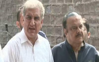 تحریک انصاف کی جانب سے پنجاب اسمبلی میں چوہدری پرویز الہٰی سپیکر کے امیدوار ہوں گے: شاہ محمود قریشی