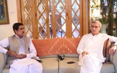 آزاد رکن پنجاب اسمبلی احمد علی اولکھ کی جہانگیر خان ترین سے ملاقات ،تحریک انصاف کی حمایت کا اعلان کر دیا