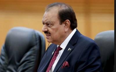 پاکستان میں اقلیتوں کوواضح اکثریت دی جاتی ہے، نفرتیں پروان چڑھیں توقومی ترقی کا خواب شرمندہ تعبیرنہ ہوسکے گا: صدرممنون حسین