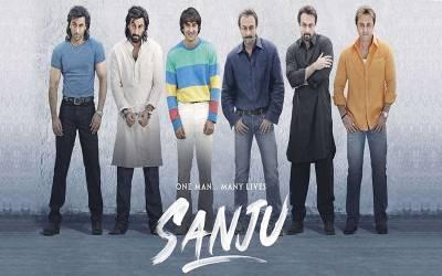 ''سنجو''نے پاکستانی سینماؤں میں بھی بزنس کاریکارڈ قائم کردیا