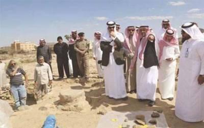 سعودی عرب ،عسیر ریجن کے جرش مقام پر 3ہزار برس پرانے آثار دریافت