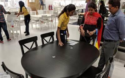 فرنیچر بنانے والی معروف کمپنی کی بھارت آمد