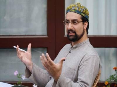 کشمیر میں غیرریاستی عناصر آباد نہیں ہونے دیں گے: میر واعظ عمر فاروق