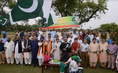 نیشنل مینارٹی ڈے کے موقع پر جیلانی پارک لاہور میں جشن آزادی تقریب کا انعقاد،مسلم و مسیحی رہنماؤں اور ڈی سی لاہور کی شرکت