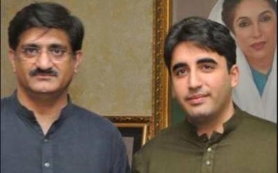چیئرمین پیپلزپارٹی بلاول بھٹوکی مراد علی شاہ کووزیراعلیٰ سندھ منتخب ہونے پر مبارکباد