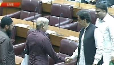 شہبازشریف پارلیمنٹ میں آئے تو اپنی نشست پر بیٹھے عمران خان نے ایسا کام کر دیا کہ جان کر آپ بھی ان کی تعریف کیے بغیر نہ رہ پائیں گے