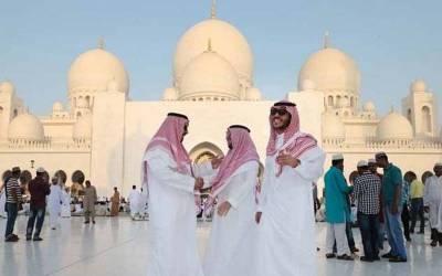 سعودی عرب سمیت خلیجی ممالک میں عیدالاضحیٰ مذہبی جوش و خروش کے ساتھ منائی جا رہی ہے