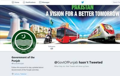 ن لیگ نے پنجاب حکومت کے ویری فائڈ ٹوئٹر اکاؤنٹ کیساتھ کیا کیا؟ ایسی خبر آ گئی کہ پاکستانیوں کے غصے کی انتہاءنہ رہے گی