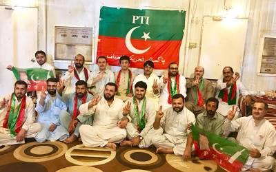 منطقہ الوفرہ کویت میں عمران خان کے وزیراعظم پاکستان بننےکی خوشی میں جشن