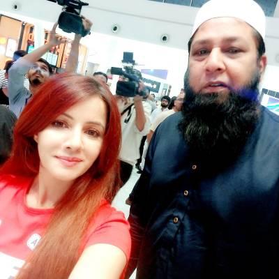 کیا کرکٹر انضما م الحق دہشت گرد ہیں؟رابی پیرزادہ کے ساتھ فوٹو مہنگی پڑگئی