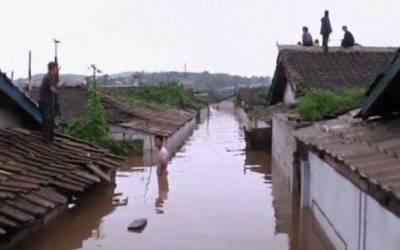 شمالی کوریا میں شدید سیلاب سے 76 افراد ہلاک، 80 شہری لاپتہ