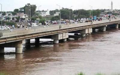 بھارت نے دریائے چناب کا ایک لاکھ کیوسک پانی روک لیا