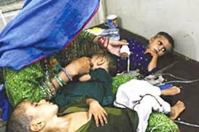 تھرپارکر: غذائی قلت ، وبائی امراض،مزید دو بچے دم توڑ گئے