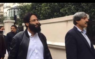 چودھری پرویزالہیٰ کے بیٹے راسخ الہیٰ کی لندن میں حسن نواز کے گھر آمد، کلثوم نواز کے انتقال پرتعزیت
