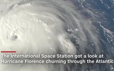 امریکا کی جنوب مشرقی ریاستوں میں سمندری طوفان کا خطرہ