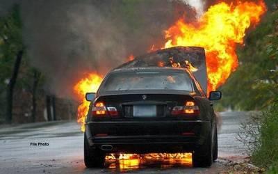 ابو ظہبی، پاکستانی شہری نے رقم واپس نہ کر نے پر ہم وطن دوست کی گاڑی نذر آتش کر دی