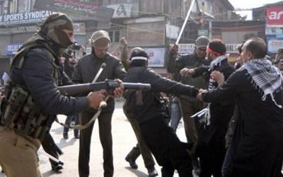 بھارتی فورسزکی فائرنگ سے7 کشمیری نوجوان شہید