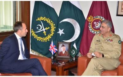 آرمی چیف سے برطانوی ہائی کمشنر کی اہم ملاقات ،علاقائی سیکیورٹی کے حوالے سے تبادلہ خیال