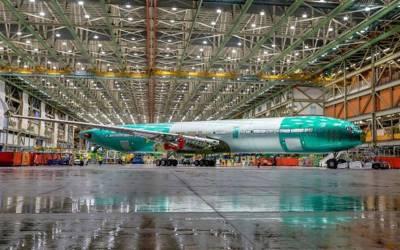 بوئنگ کے سب سے بڑے مسافر طیارے کی تصویر منظرعام پر آگئی