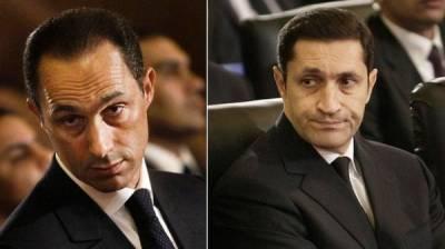 مصر: سابق صدرحسنی مبارک کے دونوں بیٹے گرفتار