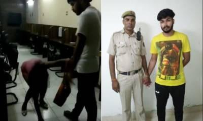 نئی دہلی، پولیس اہلکار کے بیٹے کا لڑکی پر تشدد
