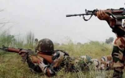 بھارتی فوج کی راوٹہ گاﺅں پر بلا اشتعال فائرنگ ،پاک فوج کی جوابی کارروائی