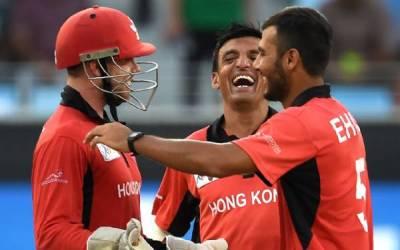 ایشیا کپ ،ہانگ کانگ اور بھارت کے درمیان میچ سنسنی خیز مرحلے میں داخل ہو گیا