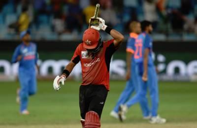 بھارت کرکٹ اور ہانگ کانگ اخلاقی میدان میں جیت گئے ،ہا نگ کانگ کے نزاکت خان اور انشومن کی شاندار بلے بازی
