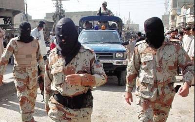 رینجرزکی کراچی کے مختلف علاقوں میں کارروائی،4 ملزمان گرفتار
