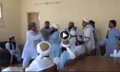 ''جمعیت علمائے اسلام کے قائدین آپس میں لڑ پڑے اور پھر۔۔۔'' ایسی خبر آ گئی کہ دیکھ کر پی ٹی آئی کارکنان کی ہنسی نہ رکے گی
