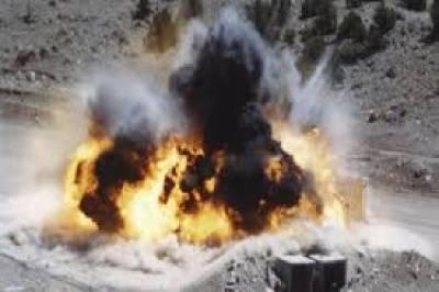 کوئٹہ:بارودی سرنگ کا دھماکا,6 افراد زخمی