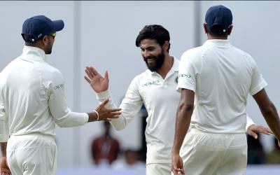 پہلا ٹیسٹ :بھارت نے ویسٹ انڈیز کو اننگ اور 272 رنز سے شکست دے دی