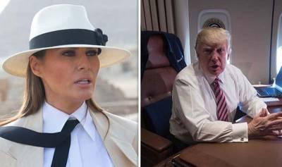 پوری دنیا کو دھمکیاں دینے والے امریکی صدر کی بیوی نے ہی انہیں بڑا جھٹکا دیدیا ، میڈیا سے گفتگو میں شوہر کے بارے میں ایسی بات کہہ دی کہ ٹرمپ کا منہ بھی کھلا کا کھلا رہ جائے گا